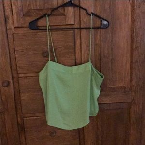 Urban Outfitters Green Tank